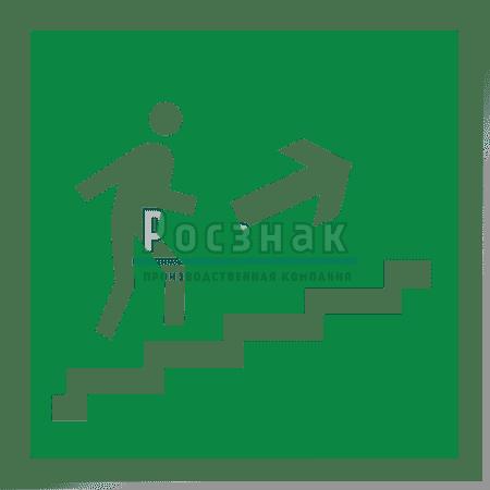 E 15 Направление к эвакуационному выходу по лестнице вверх