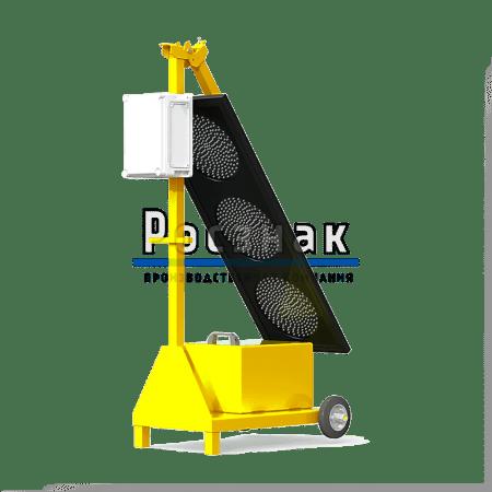 Светофор мобильный (Тип 2) трёхсекционный