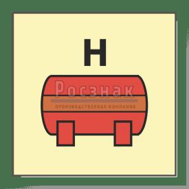 Знак IMO10.72ФС Стационарная установка пожаротушения для др. газа