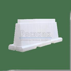 Барьер водоналивной вкладывающийся 2,0м белый
