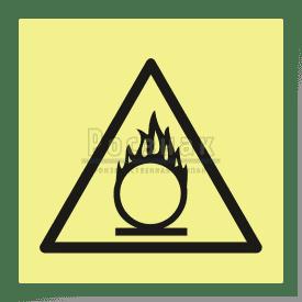 W 11ФС  Пожароопасно. Окислитель