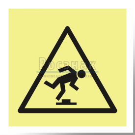 W 14ФС  Осторожно. Малозаметное препятствие