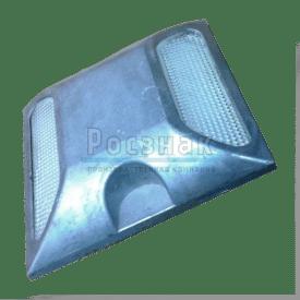 Катафот дорожный КД 3 алюминиевый