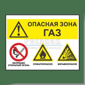 GZG14 Опасная зона! Газ