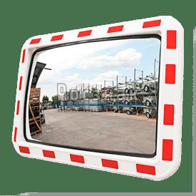 Зеркало прямоугольное со световозвращающей окантовкой