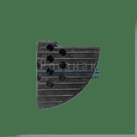 Съезд с бордюра 55мм концевой элемент