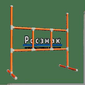 Пластиковое ограждение штакетного типа P1200