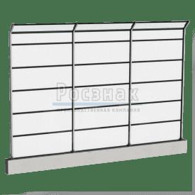 Шумозащитные экраны прозрачные