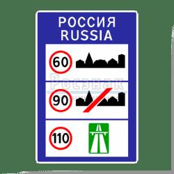 6.1 Общие ограничения максимальной скорости