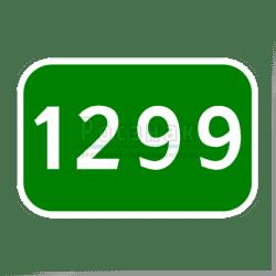 6.13 Километровый знак